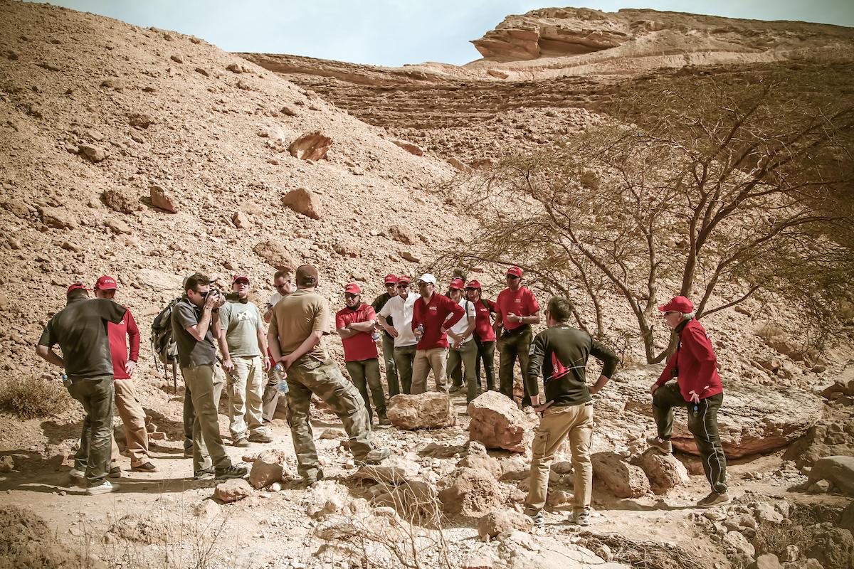 יום כייף במדבר לאירוע חברה