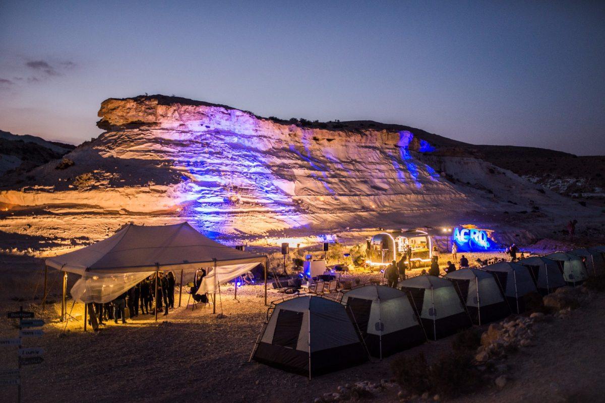 גלמפינג במדבר אירוע חברה