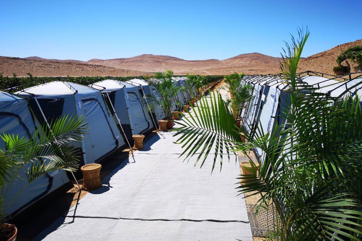 גלמפינג בר מצווה במדבר