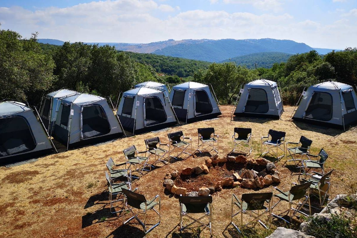 40th Anniversary Glamping Celebration in the north