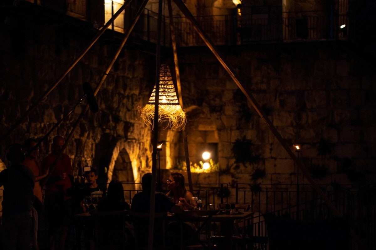 Glamping in Tower of David