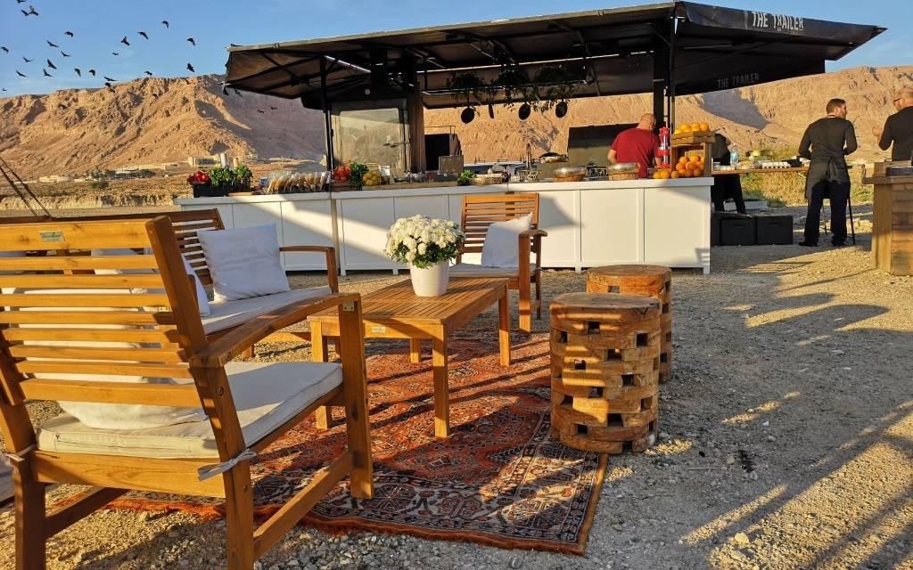 ארוחות בשטח גלמפינג ישראל