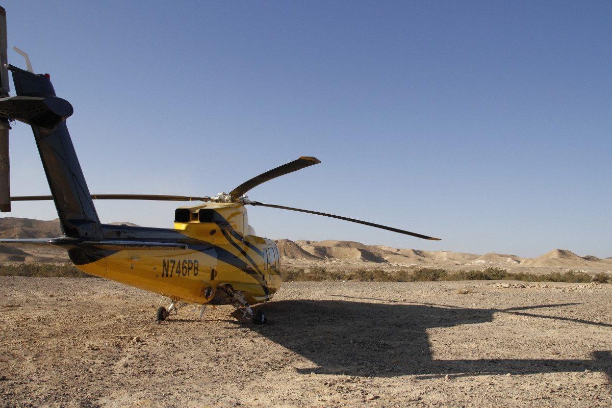 גלמפינג במדבר מצפה רמון