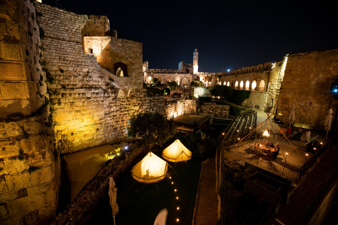 glamping israel GLAMPING AT TOWER OF DAVID